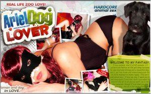 Ariel Dog Lover
