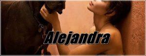 Alejandra - Amateur Pet Sex Models